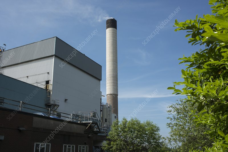 Wolverhampton refuse incinerator, UK