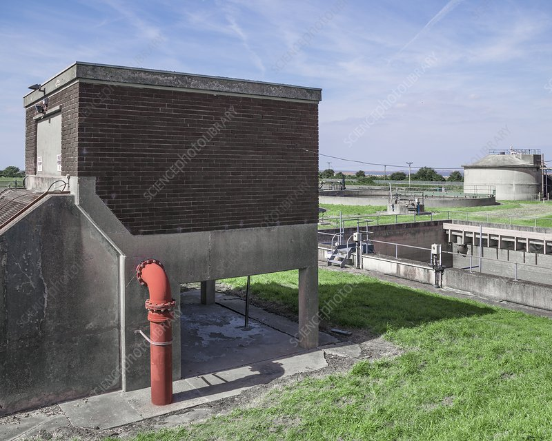 Wastewater treatment works