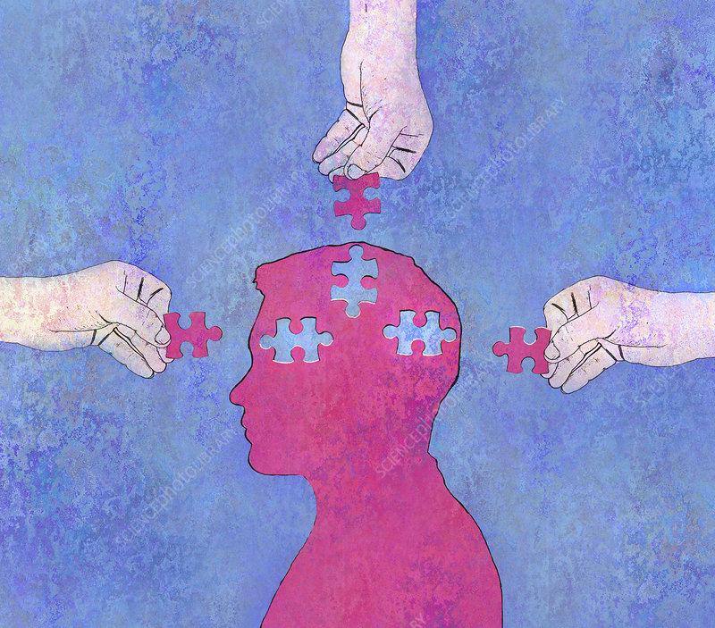 Mental health, illustration