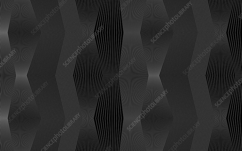 Dark monochrome abstract pattern, illustration