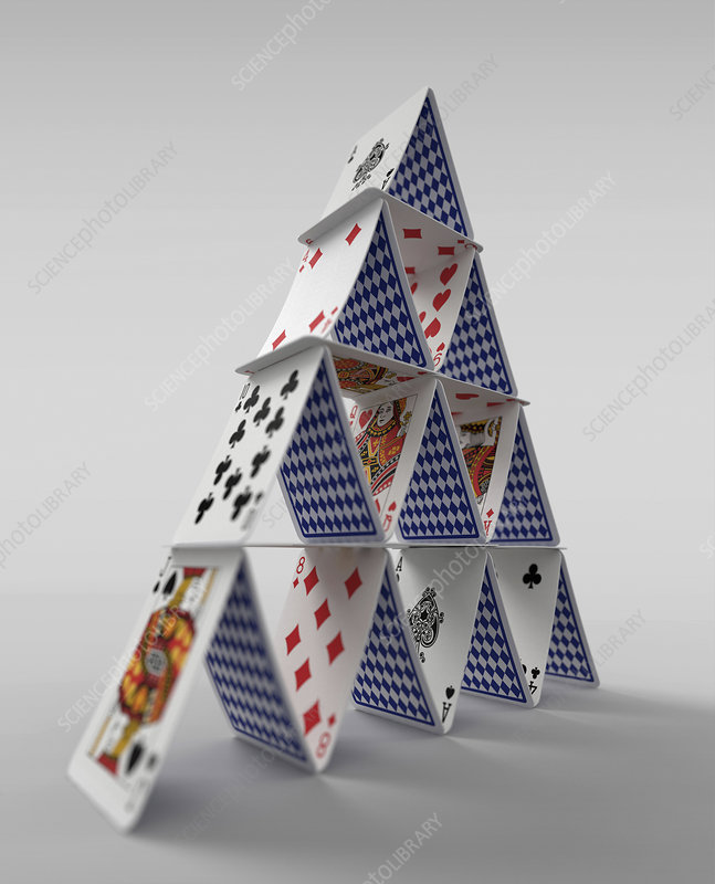 House of cards, illustration