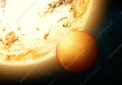 Kepler 78b, illustration