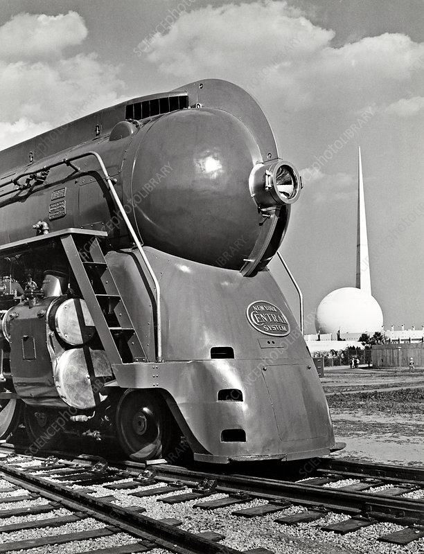 Locomotive at New York World's Fair, 1939