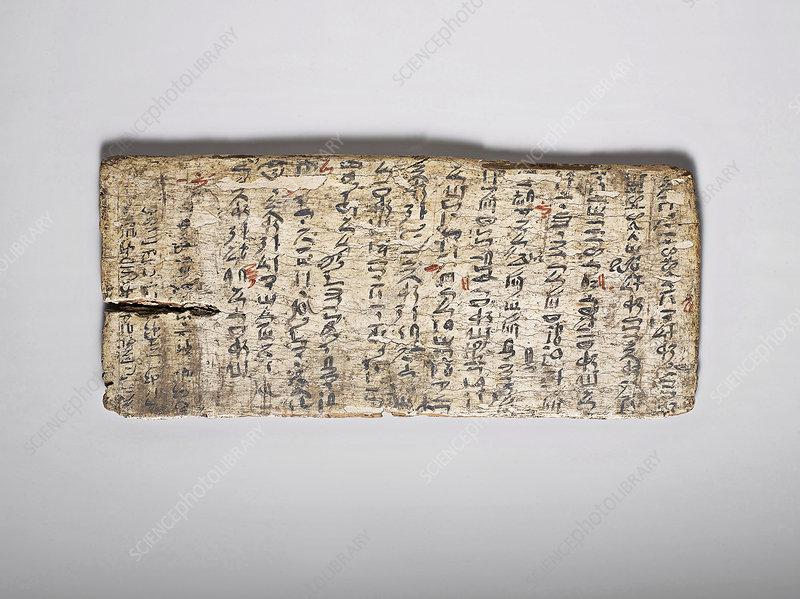 Egyptian writing board