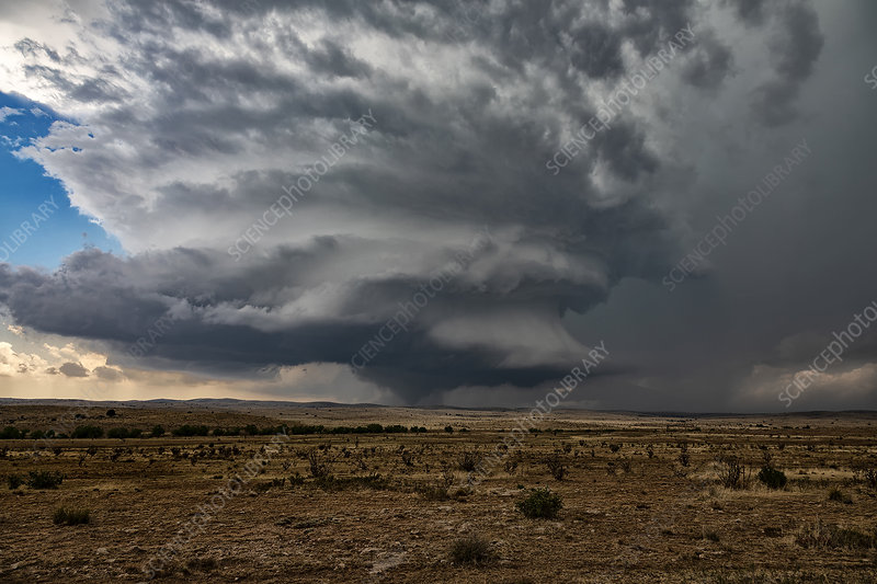 Tornado, New Mexico, USA