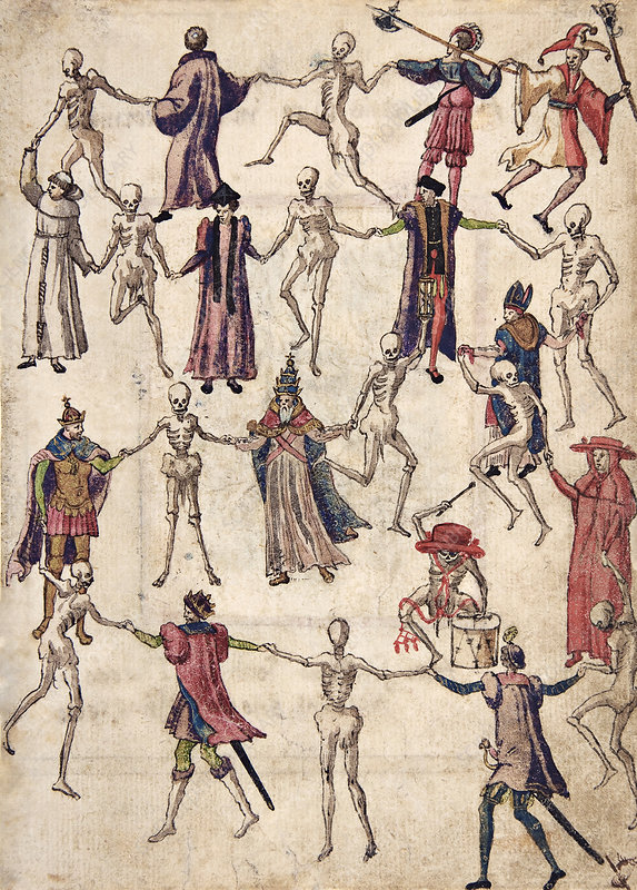 Dance of Death, 16th century