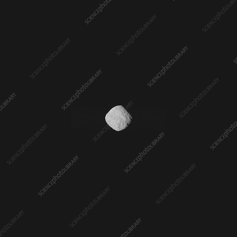 Bennu asteroid from OSIRIS-REx spacecraft, October 2018