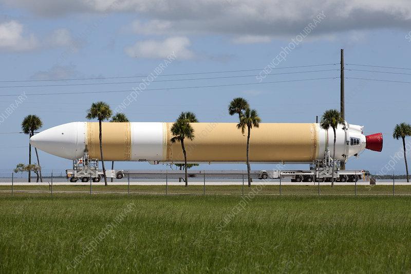 Delta IV rocket launch preparations, August 2017