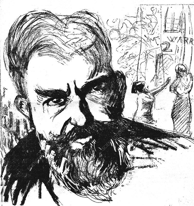 George Bernard Shaw, Irish playwright