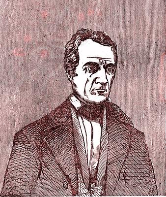 James K. Polk, 11th US president, illustration