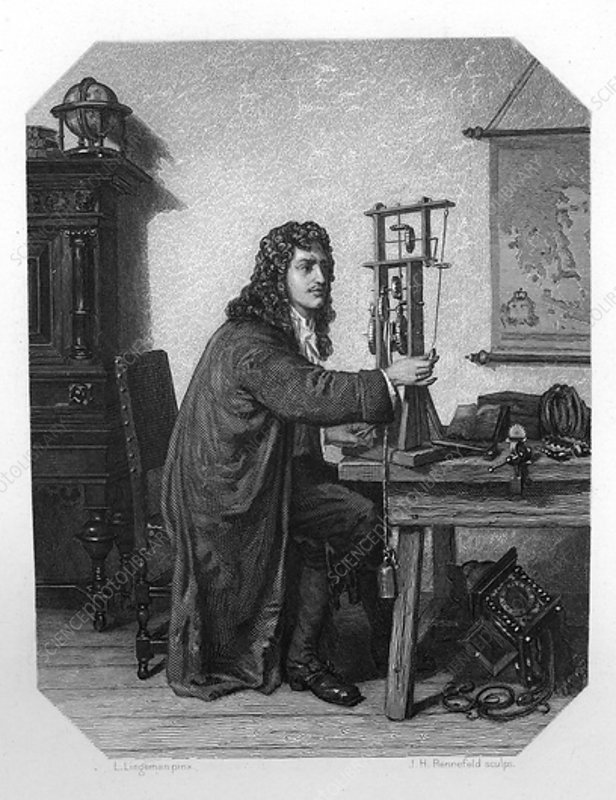 Christiaan Huygens, Dutch mathematician and astronomer