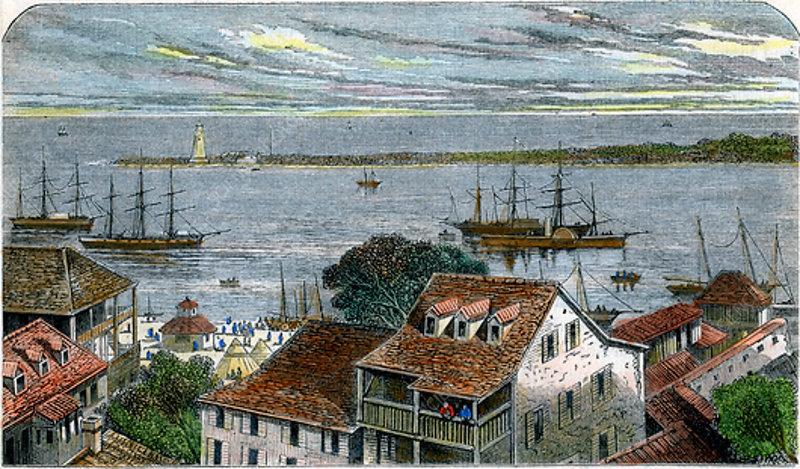 Nassau, Bahamas, c1880