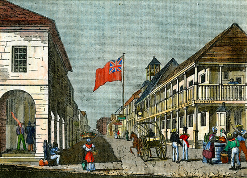 Kingston, Jamaica, c1835