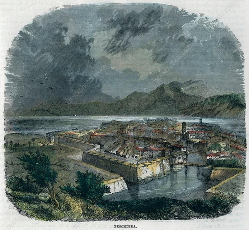 Peschiera del Garda, Italy, c1875