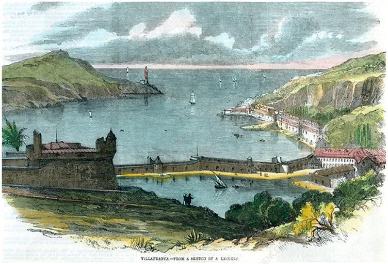 Villafranca, Italy, c1870