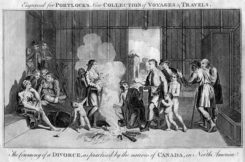 The Ceremony of a Divorce, c1760