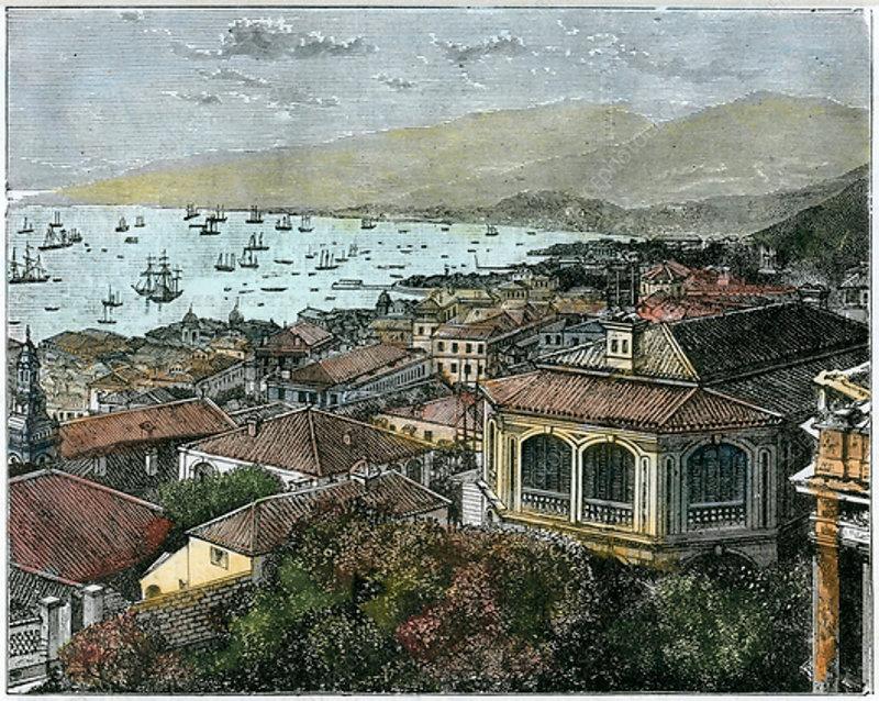 Hong Kong, c1880