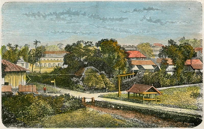 Tonga, c1885
