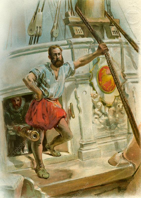 One of Drake's Men, 1588