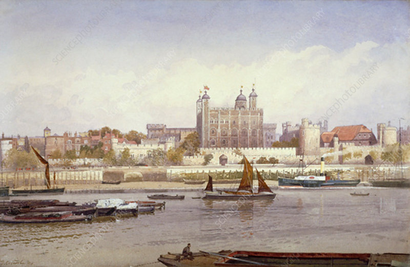 Tower of London, 1893