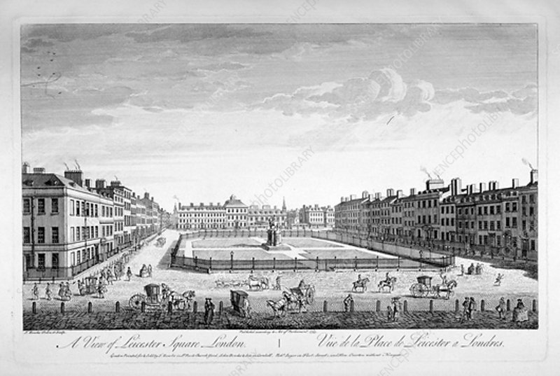 Leicester Square, Westminster, London, 1753