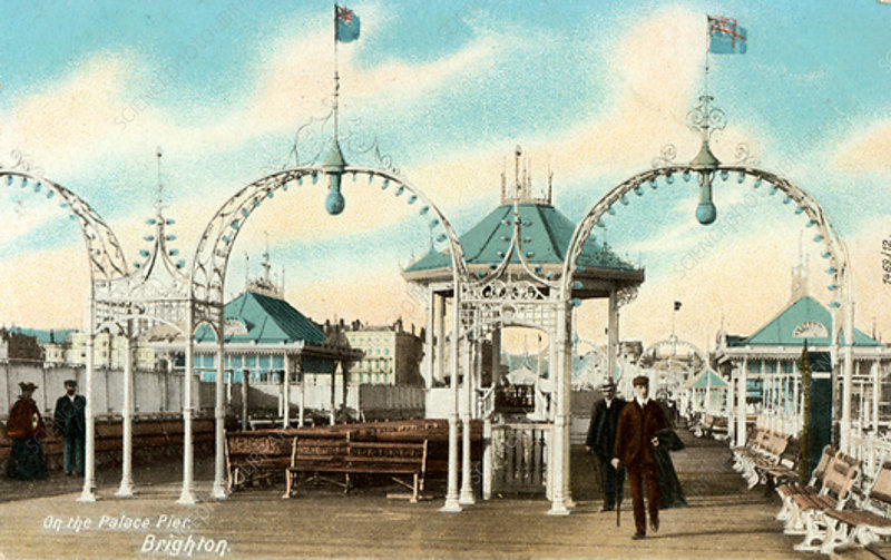 On the Palace Pier, Brighton, Sussex, UK