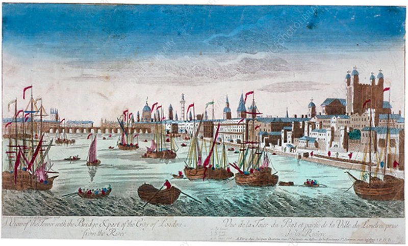 Tower of London, 1766