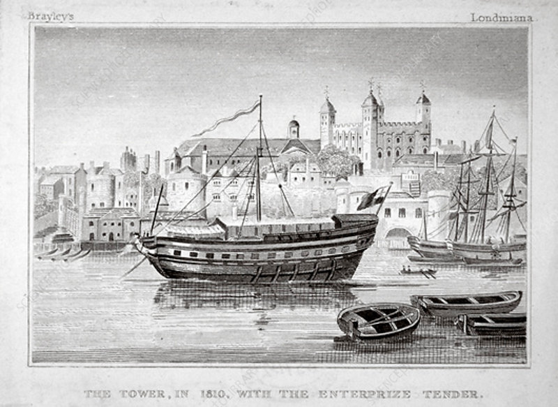 The Tower of London, 1810