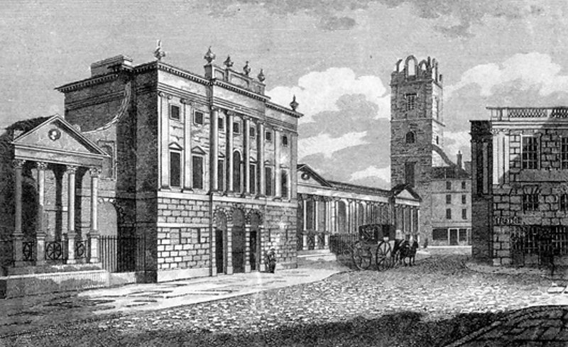 The Bank of England, City of London, 1806