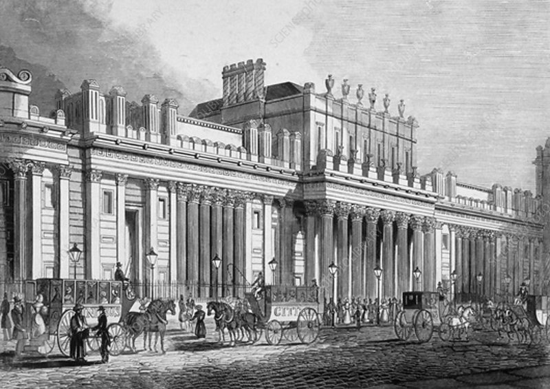 Bank of England, City of London, c1830