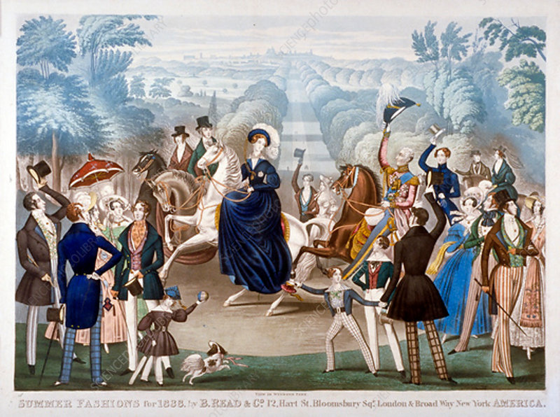 Summer Fashions for 1838, c1838
