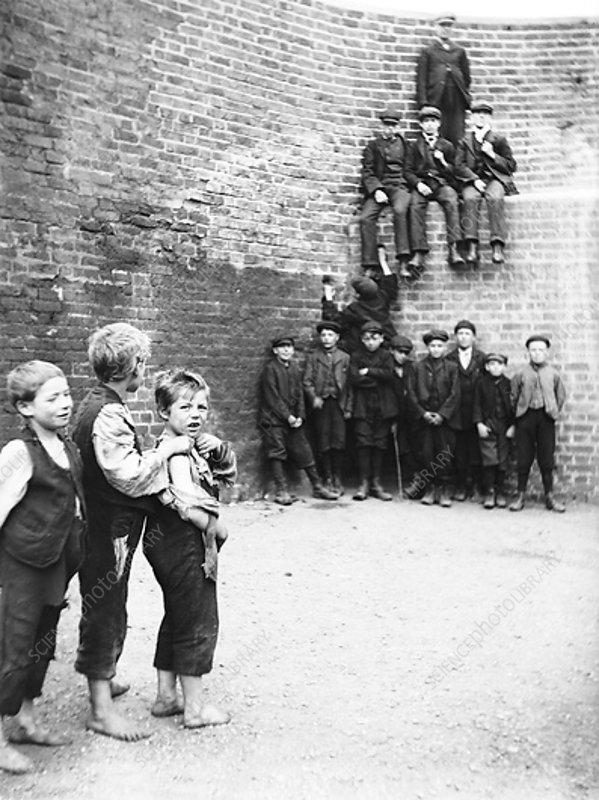 Barge boys, London, c1905