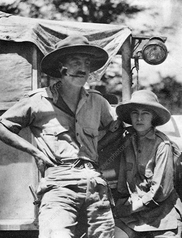 Chaplin and Stella Court Treatt, British motoring pioneers