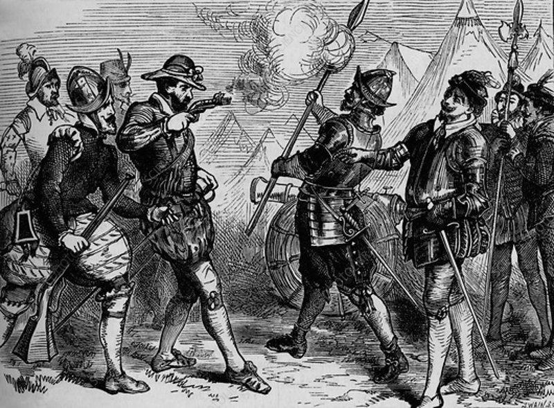 An Incident in the Siege of Leith, 1548-1560