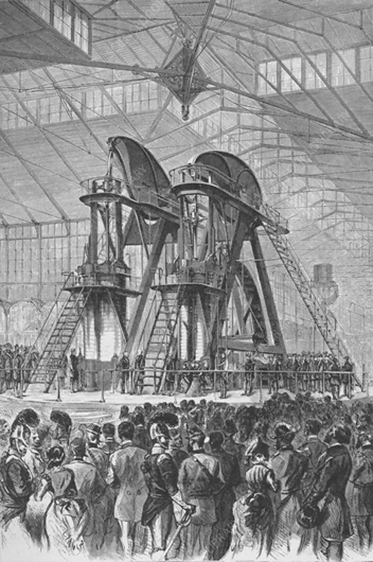Official opening of the Centennial Exhibition, c1876