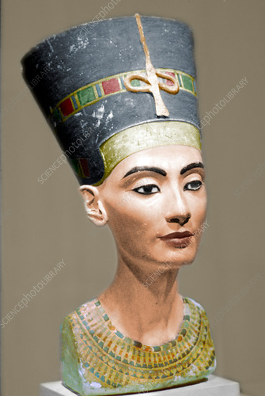 Head of Queen Nefertiti of Egypt