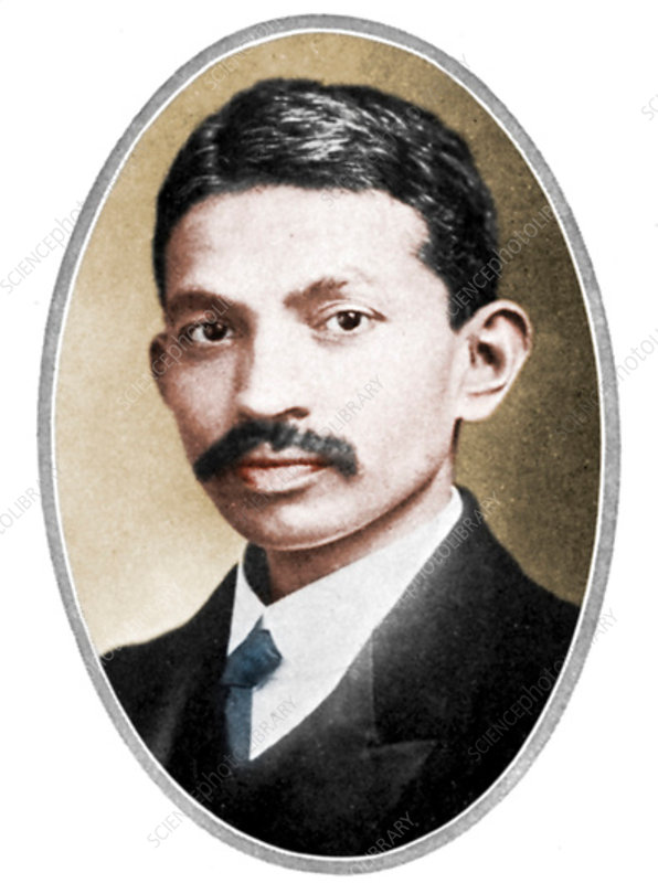 Mohondas Karamchand Gandhi as a young man