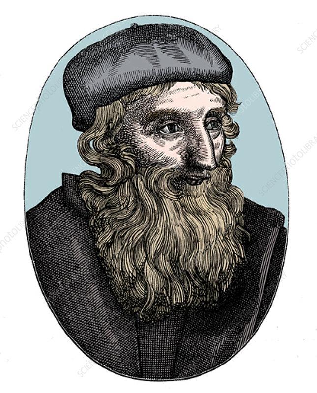 John Wycliffe, 14th century English religious reformer