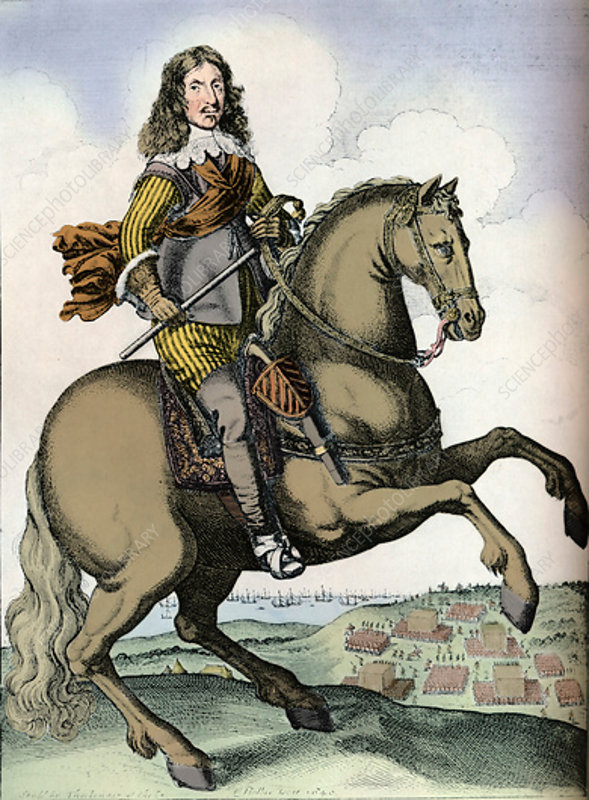 Oliver Cromwell, 1640
