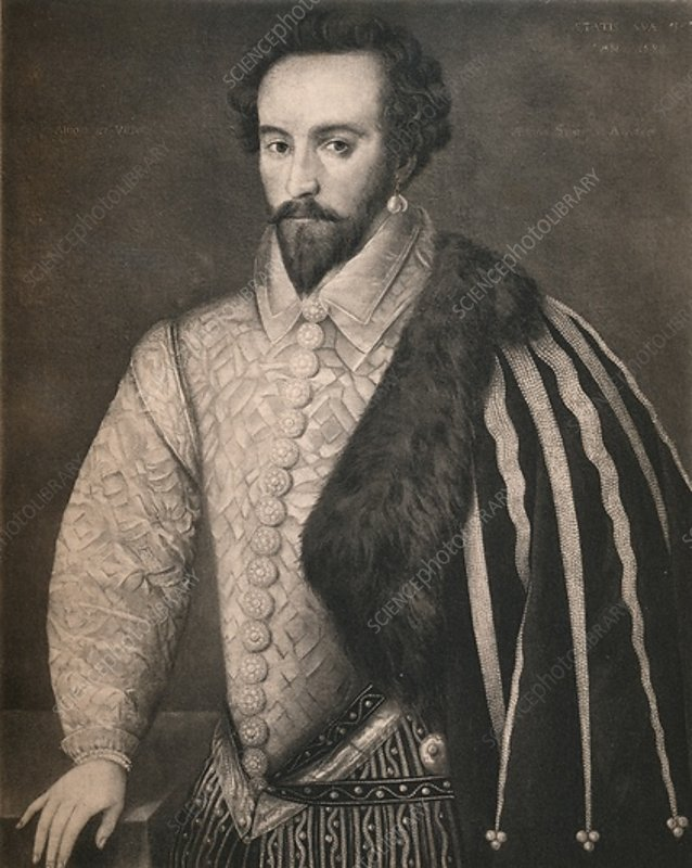 Sir Walter Raleigh, 1588