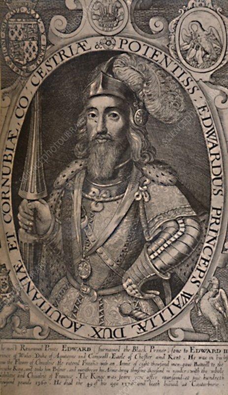 Edward, the Black Prince, c1618