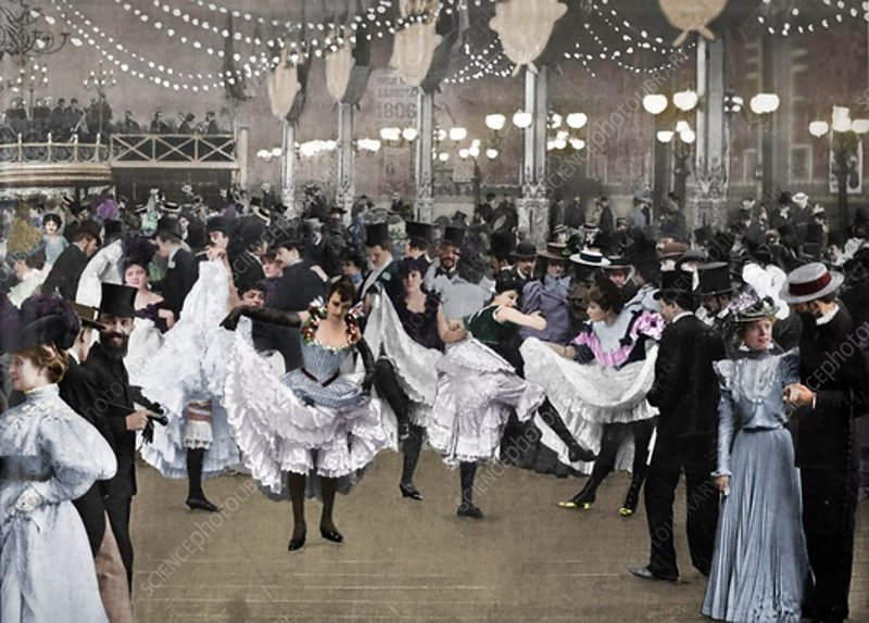 Le Bal Du Moulin-Rouge, 1900