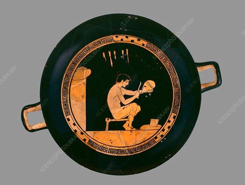 Attic red-figure cup, c480 BC