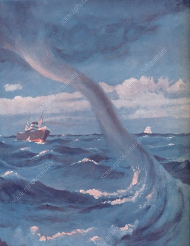 The Waterspout That Joins Cloud and Sea, 1935