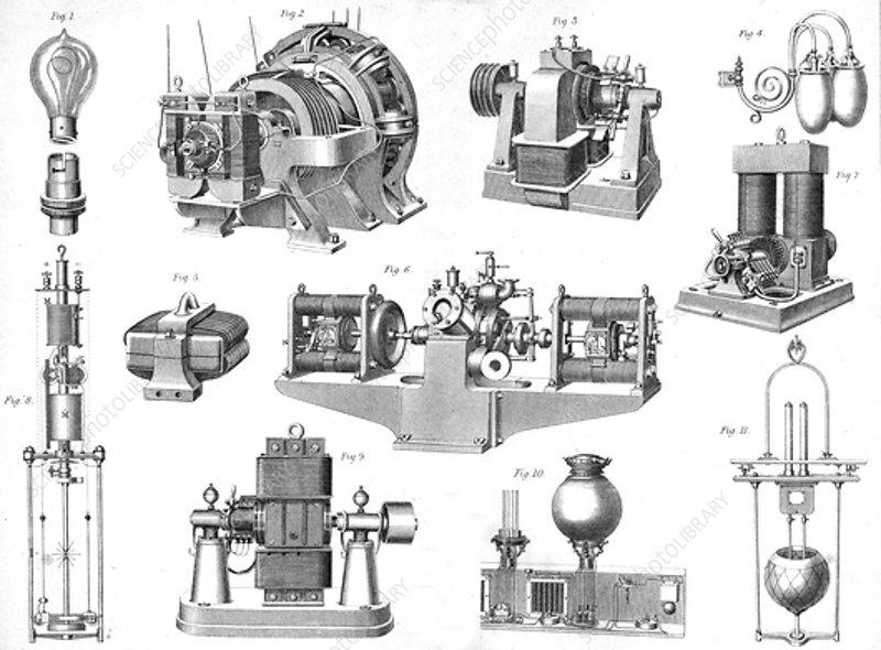 Electric light equipment