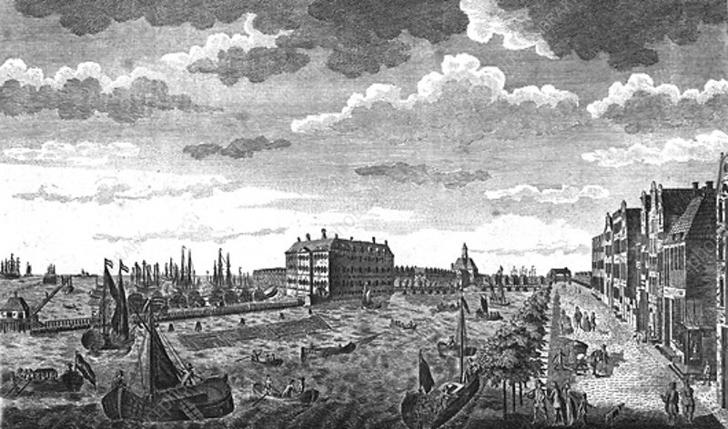 The Admiralty Office, Amsterdam, Holland, c1778