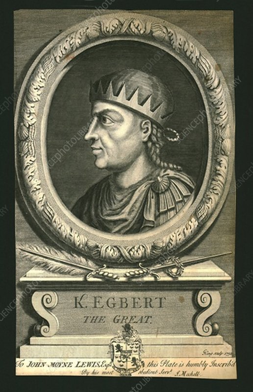 King Egbert The Great, 1732