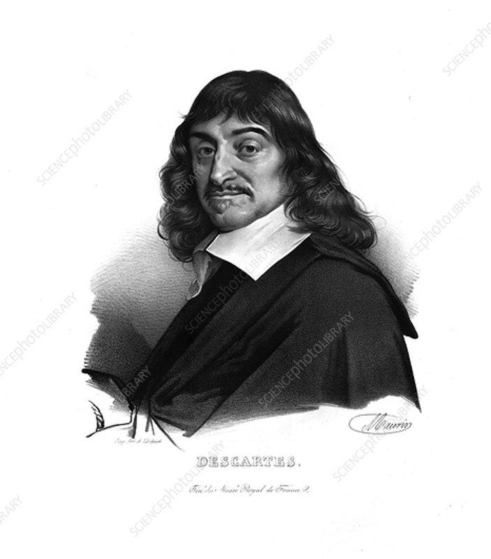Rene Descartes, c1820s
