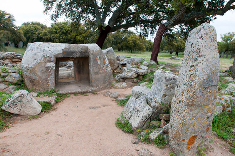 Chamber tomb, Necropolis of Pranu Mutteddu, Sardinia