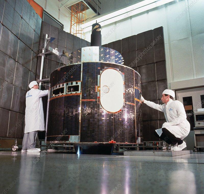 Meteosat weather satellite preparations